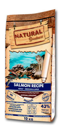 Natural Greatness Salmon Recipe Salmón